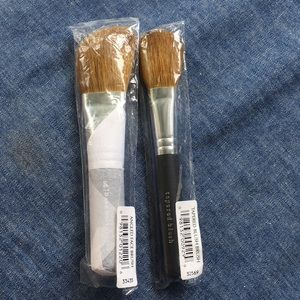 New Bare Essentials  -1Tapered -1 Face  Brushes
